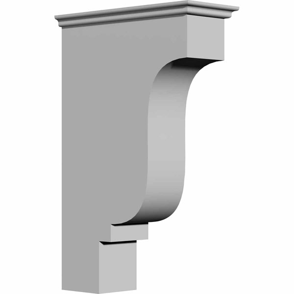 "4 1/8""W x 10 3/8""D x 16 3/8""H Edinburgh Bracket"