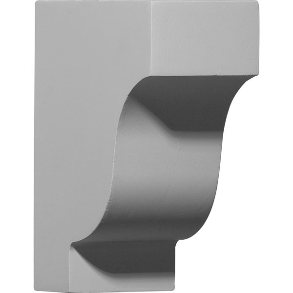 "2 7/8""W x 5 7/8""D x 7 1/4""H Traditional Corbel"