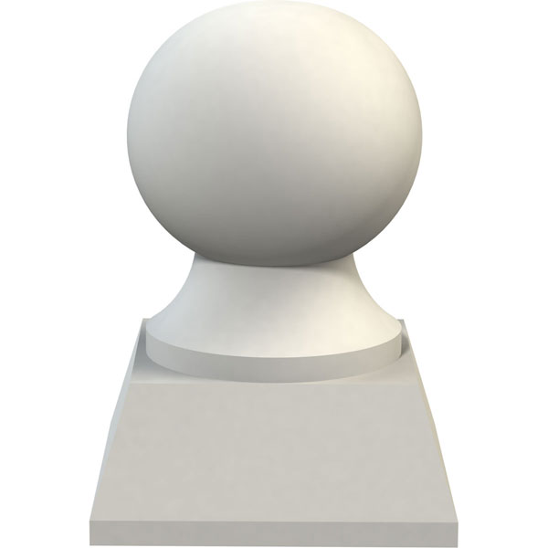"3 3/8""OD x 4 3/4""H (3 1/2""BW x 1 1/4""H Base) Traditional Finial"