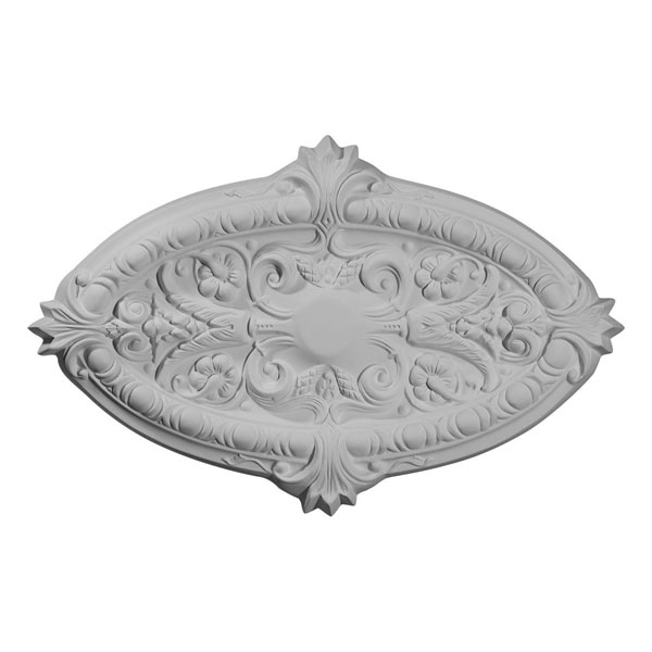 "26 3/8""W x 17 1/4""H x 1 3/4""P Marcella Ceiling Medallion (Fits Canopies up to 3"")"