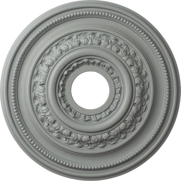 "17 5/8""OD X 3 5/8""ID X 1 7/8""P Orleans Ceiling Medallion (Fits Canopies up to 4 5/8"")"