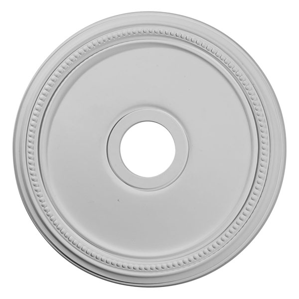 "18""OD x 3 5/8""ID x 1 1/8""P Diane Ceiling Medallion (Fits Canopies up to 5 3/8"")"