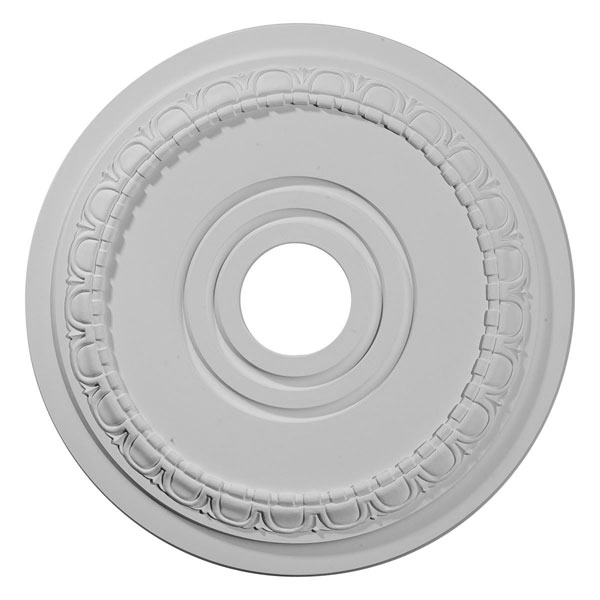 "17 1/2""OD x 3 5/8""ID x 1""P Munich Ceiling Medallion (Fits Canopies up to 5 5/8"")"