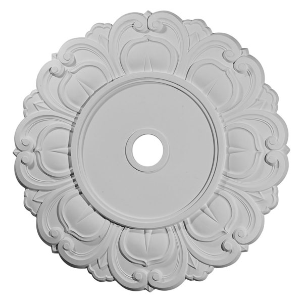 "32 1/4""OD x 3 5/8""ID x 1 1/8""P Angel Ceiling Medallion (Fits Canopies up to 15 3/4"")"