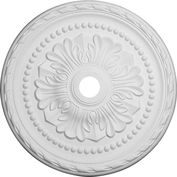 "31 1/2""OD x 3 5/8""ID x 1 3/4""P Palmetto Ceiling Medallion (Fits Canopies up to 7 5/8"")"