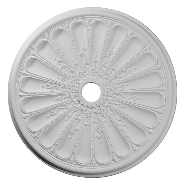 "31 1/2""OD x 3 5/8""ID x 1 1/2""P Kirke Ceiling Medallion (Fits Canopies up to 3 5/8"")"