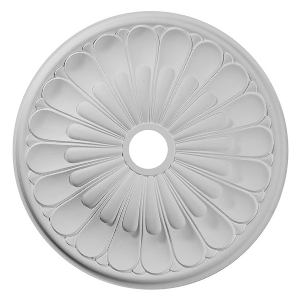 "26 3/4""OD x 3 5/8""ID x 1 3/8""P Elsinore Ceiling Medallion (Fits Canopies up to 3 5/8"")"