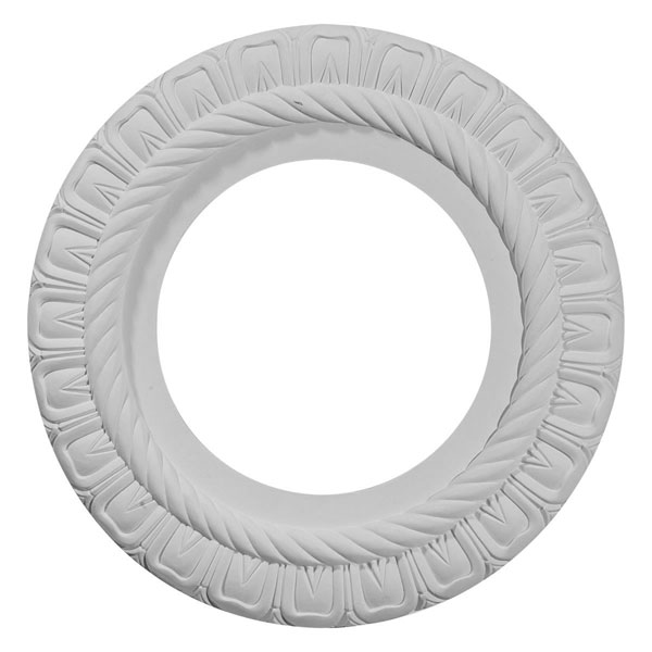 "10 5/8""OD x 5 3/4""ID x 1/2""P Claremont Ceiling Medallion (Fits Canopies up to 7"")"