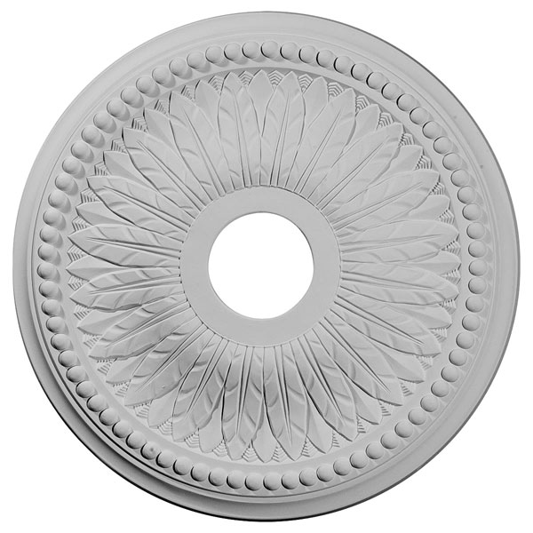 "18""OD x 3 3/4""ID x 1 1/2""P Bailey Ceiling Medallion (Fits Canopies up to 5 3/4"")"