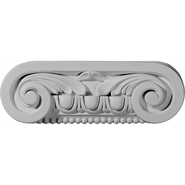 "9 1/2""W x 3 1/8""H x 2 1/4""D Southampton Capital (Fits Pilasters up to 6 1/4""W x 3/8""D)"