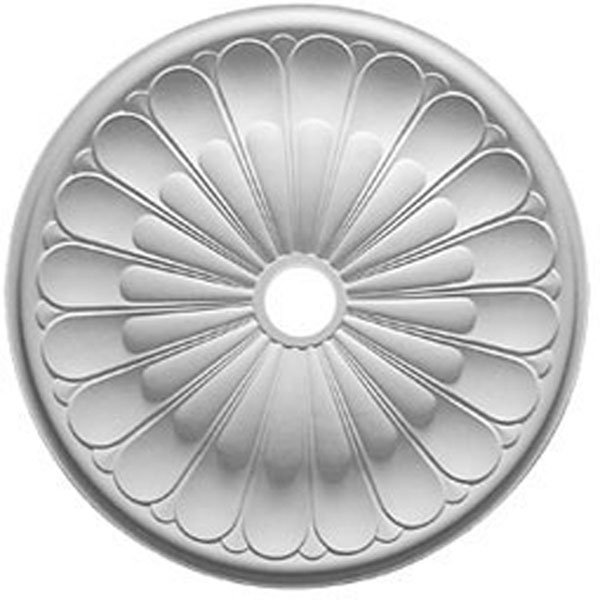 "31 5/8""OD x 3 5/8""ID x 1 7/8""P Gorleen Ceiling Medallion (Fits Canopies up to 3 5/8"")"