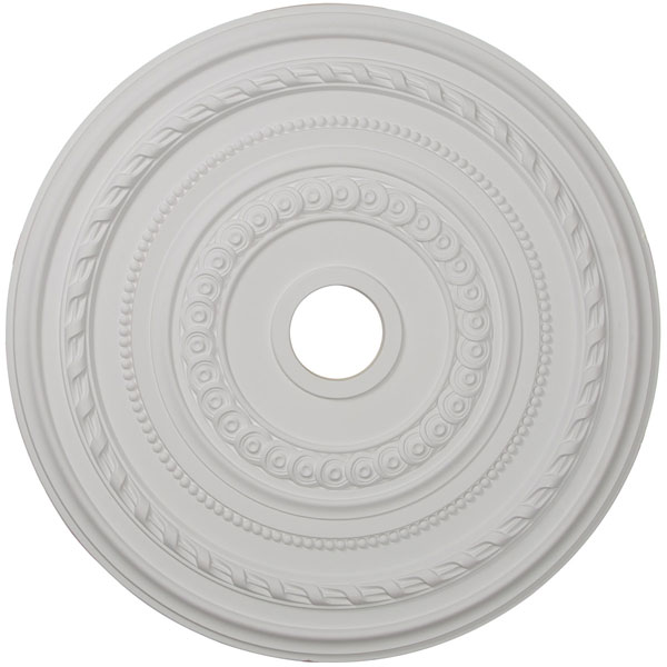 "25 3/8""OD x 3 3/8""ID x 1 3/8""P Cole Ceiling Medallion (Fits Canopies up to 9 1/8"")"