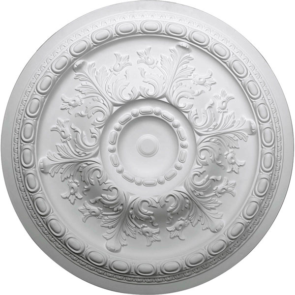 "38 3/8""OD x 2 7/8""P Oslo Ceiling Medallion (Fits Canopies up to 7 5/8"")"
