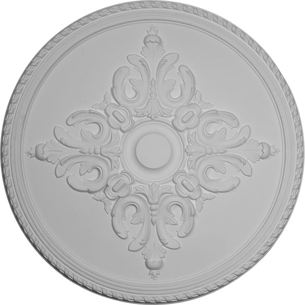"40 5/8""OD x 1 3/4""P Milton Ceiling Medallion (Fits Canopies up to 7 7/8"")"