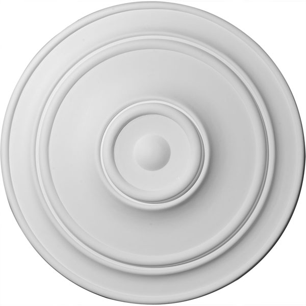 "40 1/4""OD x 3 1/8""P Small Classic Ceiling Medallion (Fits Canopies up to 10"")"