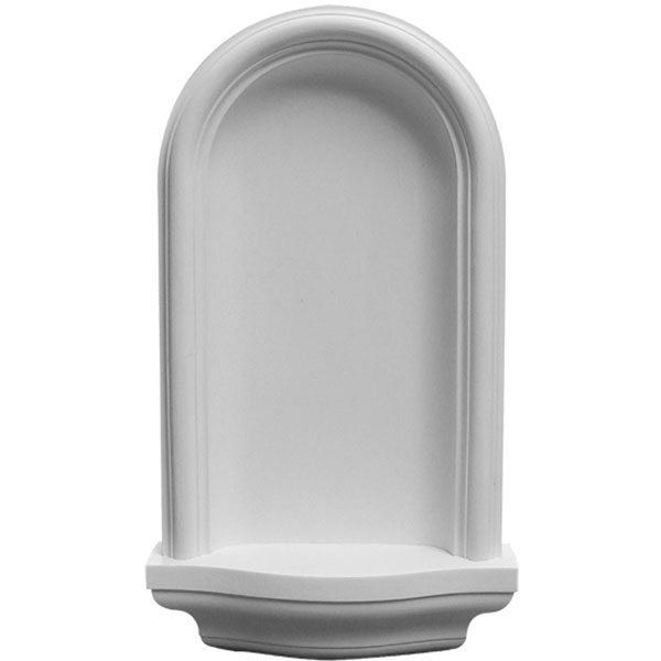 "11 3/8""W x 20""H x 3 1/4""D Maria Wall Niche, Surface Mount"
