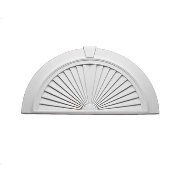 Fypon sunburst pediment segment fypon sunburst window pedim for Fypon window pediments