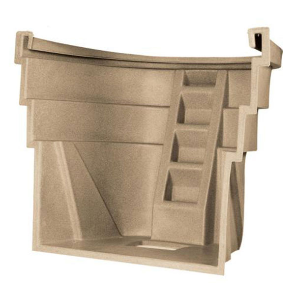 "2060 Wellcraft Egress System, 78""W x 60""H, Single Piece Sandstone"