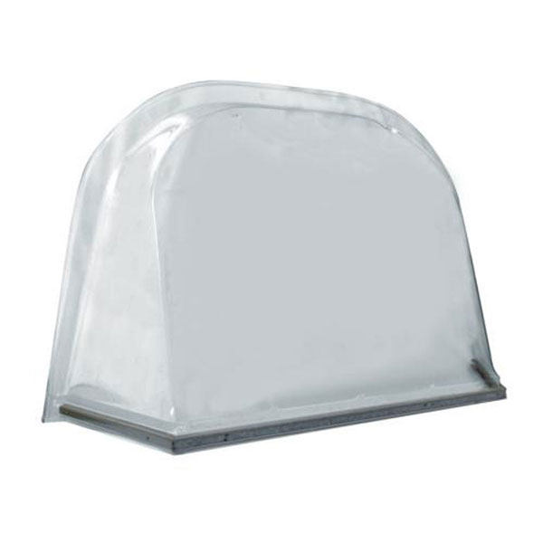 """2060 Polycarbonate Dome Cover 72""""W x 48""""D x 18""""H (Supports up to 350lbs)"""