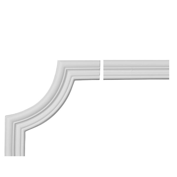 "1 5/8""W x 1/2""P x 94 1/2""L Swindon Panel Moulding Collection"