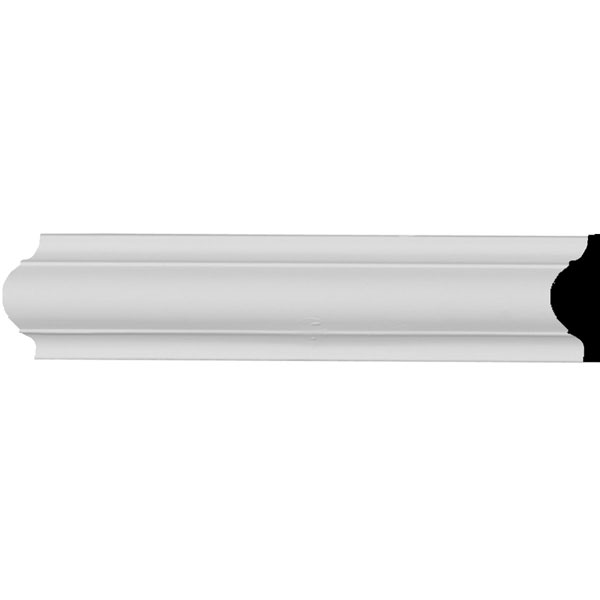 "1 5/8""H x 1/2""P x 94 1/2""L Ashford Smooth Panel Moulding"