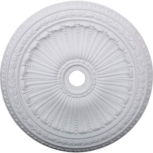 "35 1/8""OD x 4 7/8""ID x 2 1/2""P Viceroy Ceiling Medallion (Fits Canopies up to 4 7/8"")"