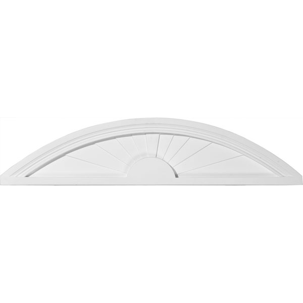 "40""W x 9""H x 1 3/4""P Elliptical Sunburst Pediment"