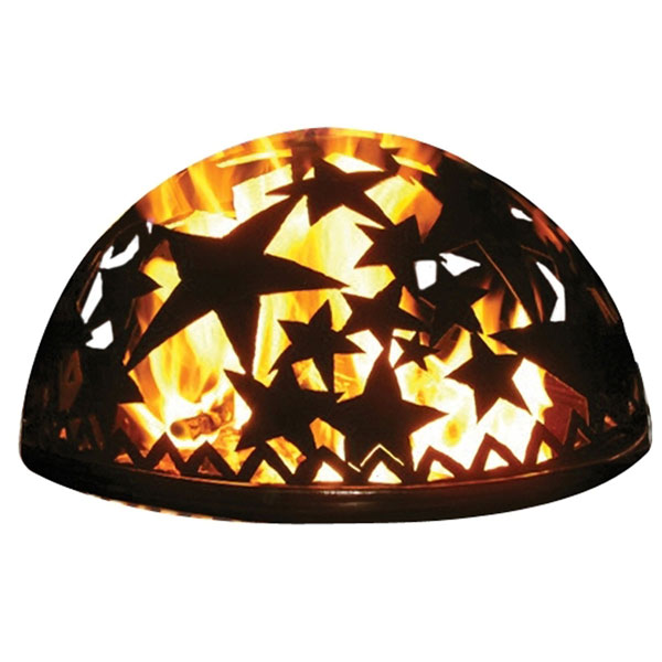 "20""W x 8 3/4""H Starry Night Dome"