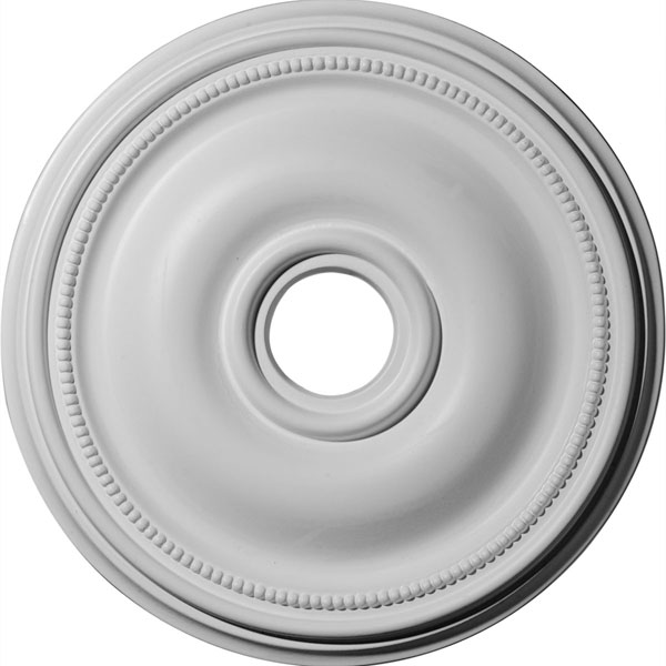 "18 1/8""OD x 3 3/4""ID x 1 1/8""P Bradford Ceiling Medallion (Fits Canopies up to 4 3/8"")"