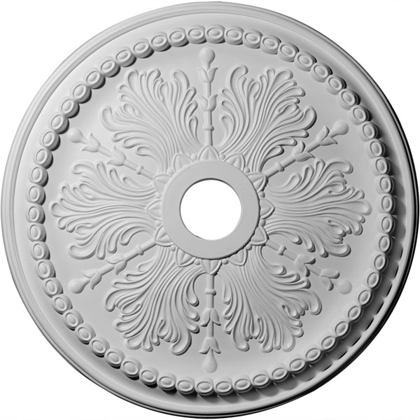 "27 1/2""OD x 4""ID x 1 1/2""P Winsor Ceiling Medallion (Fits Canopies up to 4"")"
