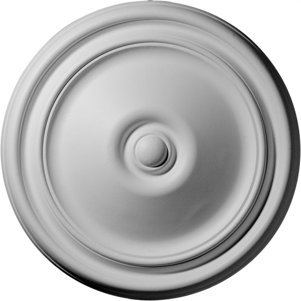 "12""OD x 1 3/4""P Reece Ceiling Medallion (Fits Canopies up to 2 3/8"")"