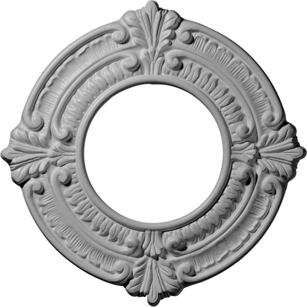 "9""OD x 4 1/8""ID x 5/8""P Benson Ceiling Medallion (Fits Canopies up to 4 1/8"")"