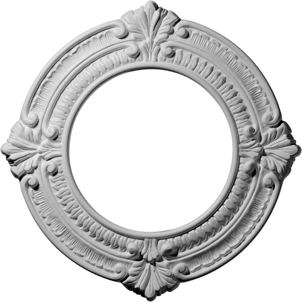 "11 1/8""OD x 6 1/8""ID x 5/8""P Benson Ceiling Medallion (Fits Canopies up to 6 1/8"")"