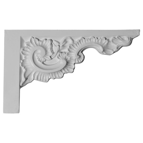 "12""W x 7 7/8""H x 7/8""P Ashford Stair Bracket, Right"