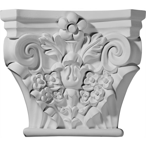 "11 1/2""W x 3 3/8""D x 10 1/8""H Anthony Capital (Fits Pilasters up to 8""W x 1 1/2""D)"