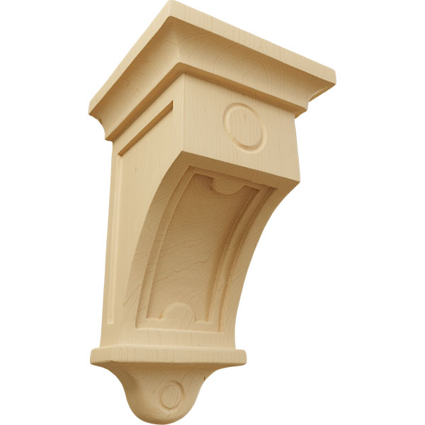 Arts and Crafts 01 Wood Corbel