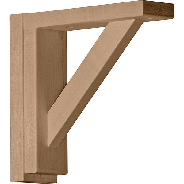 "2 1/2""W x 8 3/4""D x 8 1/4""H Small Traditional Shelf Bracket"