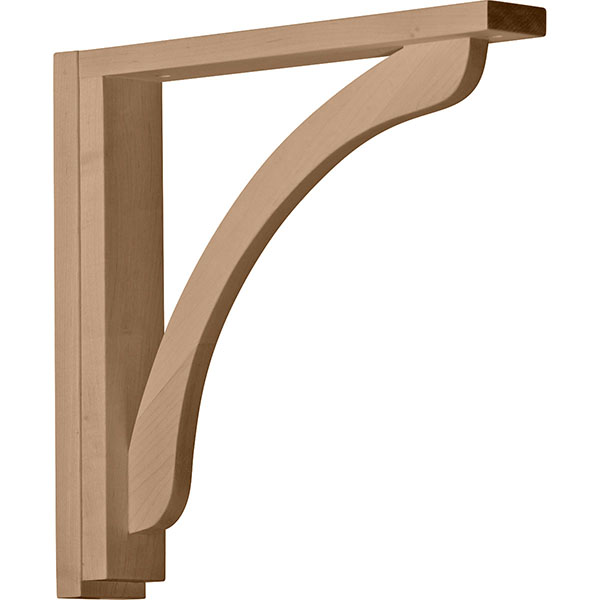 "2 1/2""W x 14 3/4""D x 14 1/4""H Extra Large Shelf Bracket"