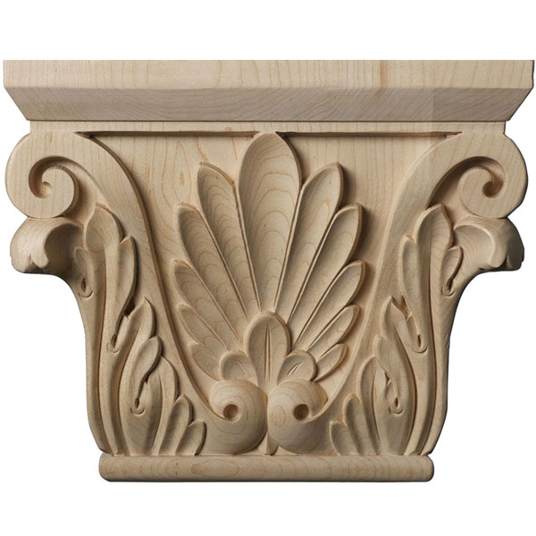 "9 1/2""W x 6""BW x 3 1/8""D x 7 5/8""H Medium Chesterfield Capital (Fits Pilasters up to 5 5/8""W x 1 3/8""D)"