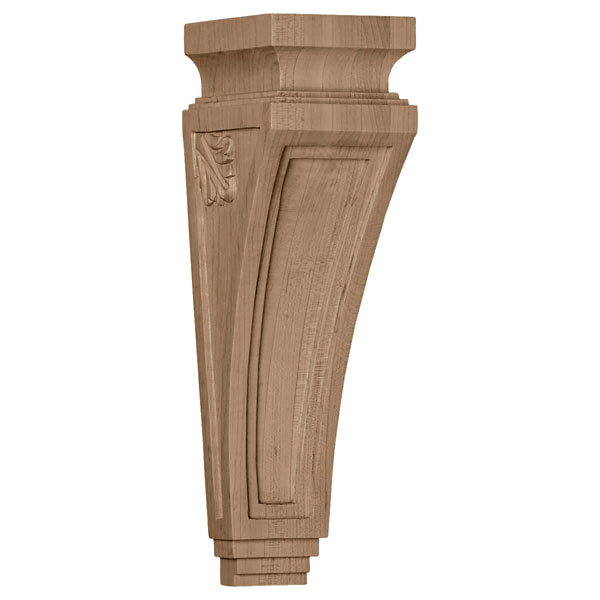 "3 7/8""W x 4 1/2""D x 14""H Arts and Crafts Corbel"