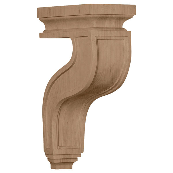 "4""W x 8 1/2""D x 13""H Hollow Back Corbel"