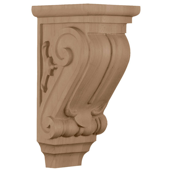 "5""W x 5""D x 10""H Small Classical Corbel"