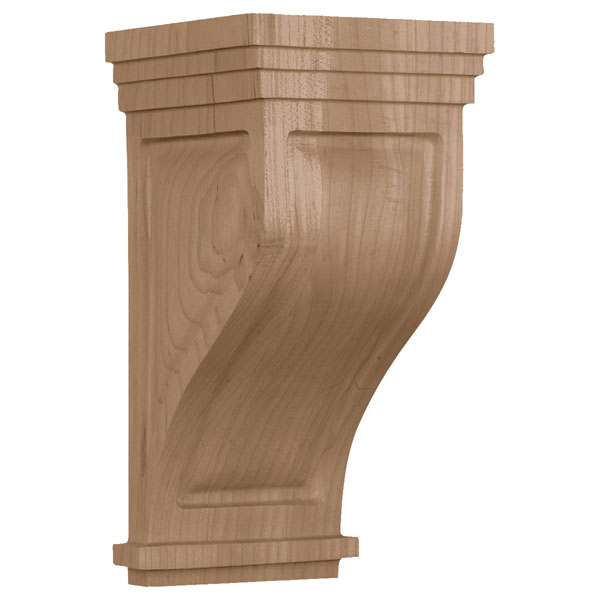 Medium Santa Cruz Wood Corbel