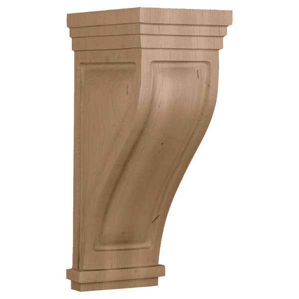 Large Santa Cruz Wood Corbel