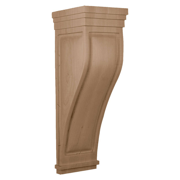 Extra Large Santa Cruz Wood Corbel