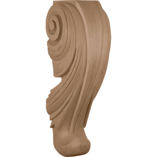"7""W x 7 1/4""D x 20""H, Extra Large Wave Corbel"