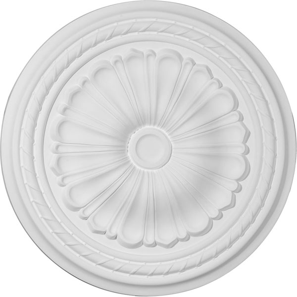 "20 1/2""OD x 1 7/8""P Alexa Ceiling Medallion (Fits Canopies up to 2 7/8"")"