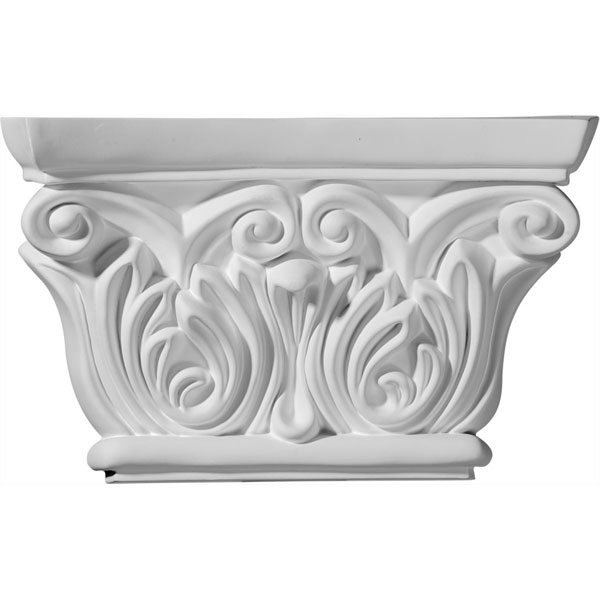 "8 5/8""W x 5 1/2""H Chesterfield Capital (Fits Pilasters up to 5 5/8""W x 3/4""D)"