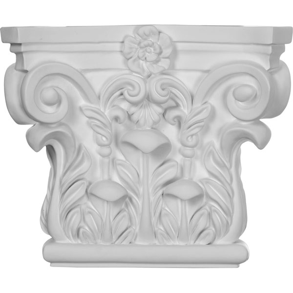 "8 5/8""W x 7 1/4""H Corinthian Capital (Fits Pilasters up to 5 5/8""W x 3/4""D)"