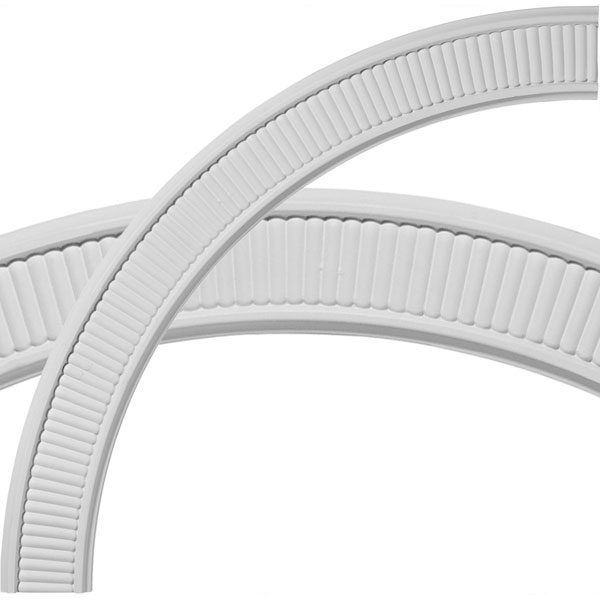 "39 1/2""OD x 33 1/4""ID x 3 1/8""W x 5/8""P Nevio Ceiling Ring (1/4 of complete circle)"
